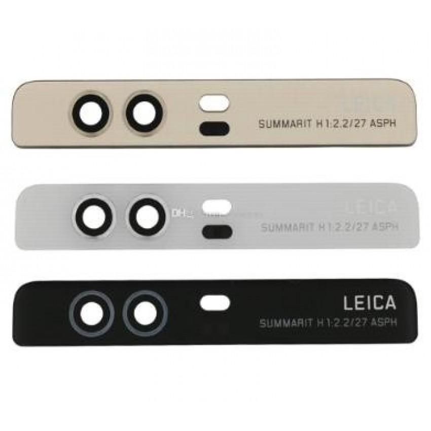 Huawei P9 kameros stikliukas juodas ORG