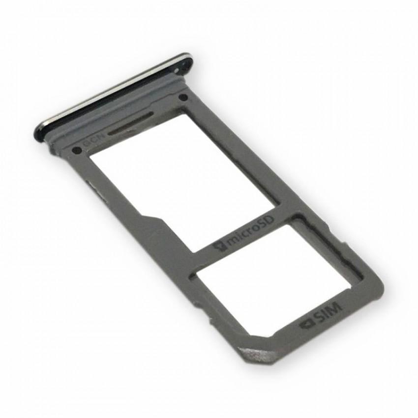 SIM card holder Samsung G950/G955 S8/S8+ black ORG