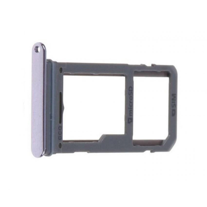 SIM card holder Samsung G950/G955 S8/S8+ purple (orchid gray) ORG