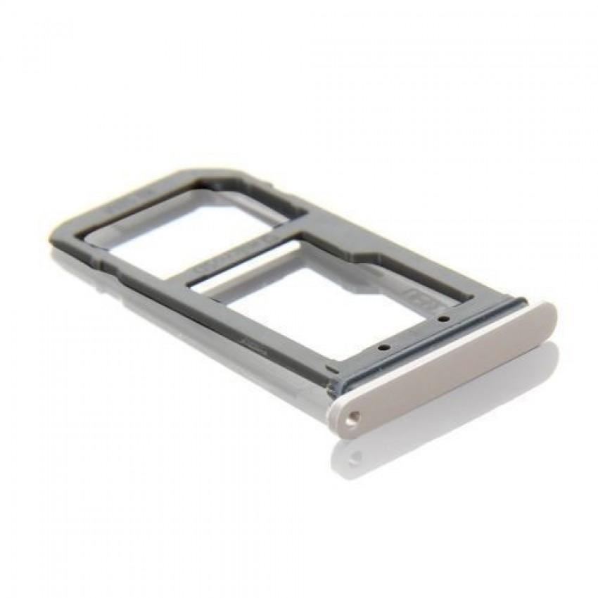 SIM card holder Samsung G935 S7 Edge gold ORG
