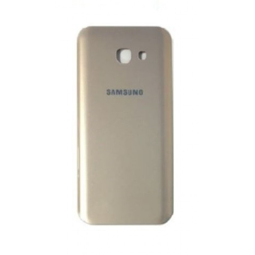 Galinis dangtelis Samsung A520 A5 2017 auksinis HQ