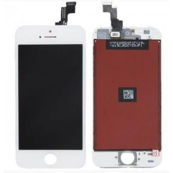 Ekranas iPhone SE/5S su lietimui jautriu stikliuku baltas (Refurbished) ORG