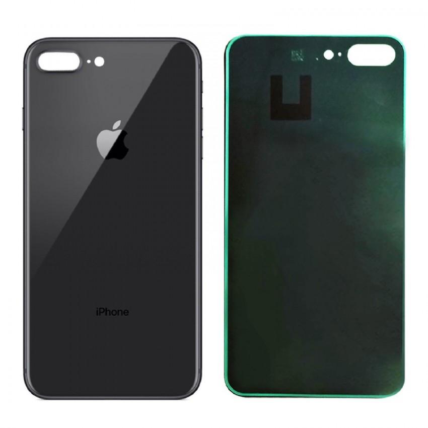 Galinis dangtelis iPhone 8 Plus pilkas (space grey)