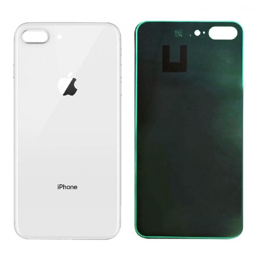 Galinis dangtelis iPhone 8 Plus sidabrinis