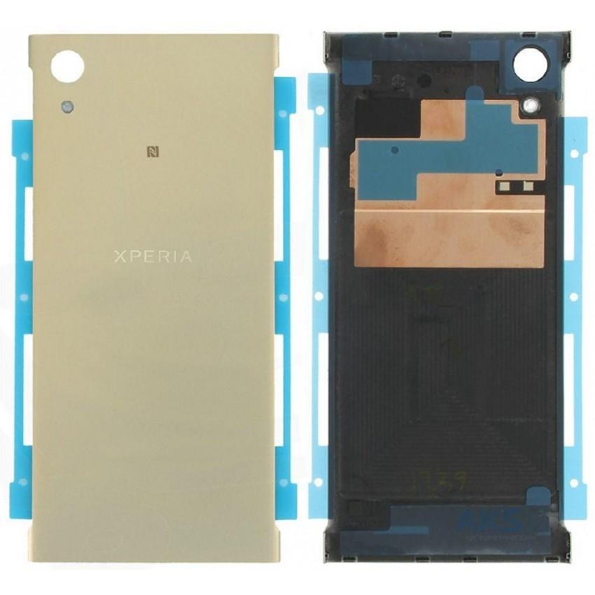 Galinis dangtelis Sony G3121/G3112 Xperia XA1 auksinis HQ