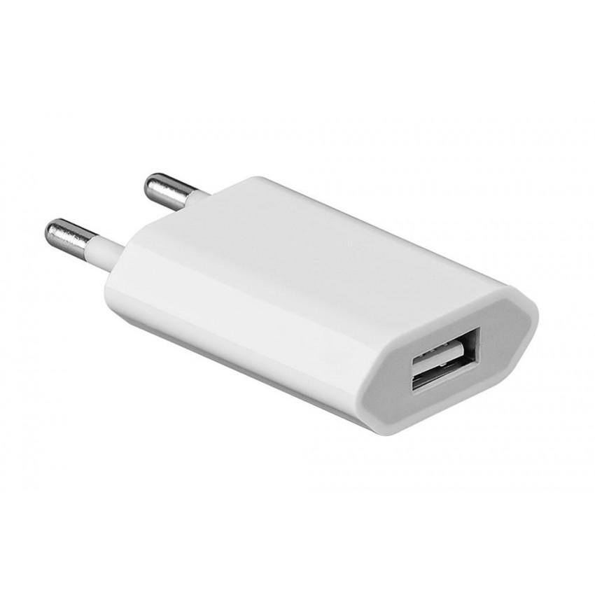 Įkroviklis iPhone A1400/A1486 4G/4S/5G/5C/5S/6/6/7 Plus/8/8 Plus/X (1A)