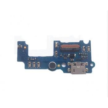 Lanksčioji jungtis Huawei Enjoy 5S/Huawei GR3 įkrovimo kontakto su mikrofonu ORG