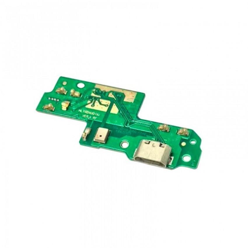Lanksčioji jungtis Huawei P9 Lite įkrovimo kontakto su mikrofonu ORG