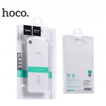 "Case ""Hoco Light Series TPU"" Samsung G955 S8+ transparent black"