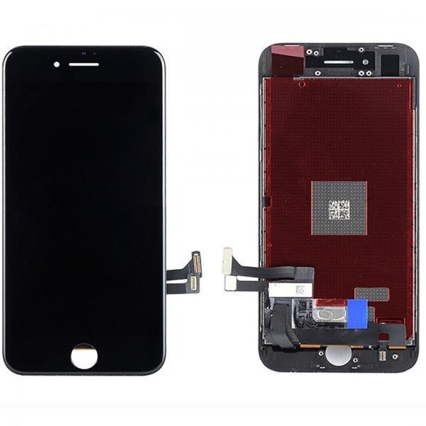 Ekranas iPhone 8/SE 2020 su lietimui jautriu stikliuku juodas (Refurbished) ORG