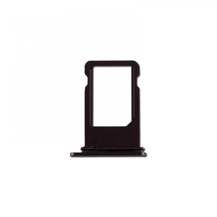 SIM card holder Apple iPhone 8 Plus black