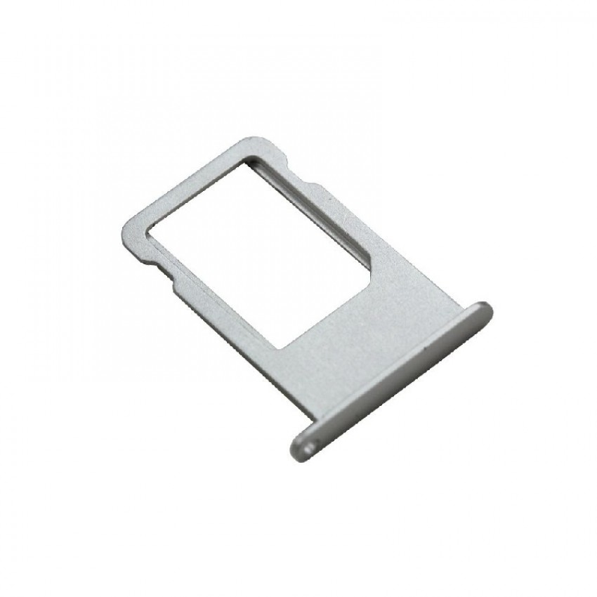 SIM card holder Apple iPhone X silver ORG