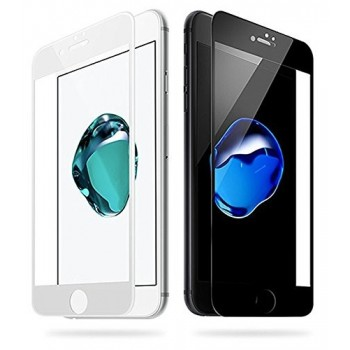 "Screen protection glass ""5D Full Glue"" Apple iPhone 7 Plus/8 Plus curved black bulk"