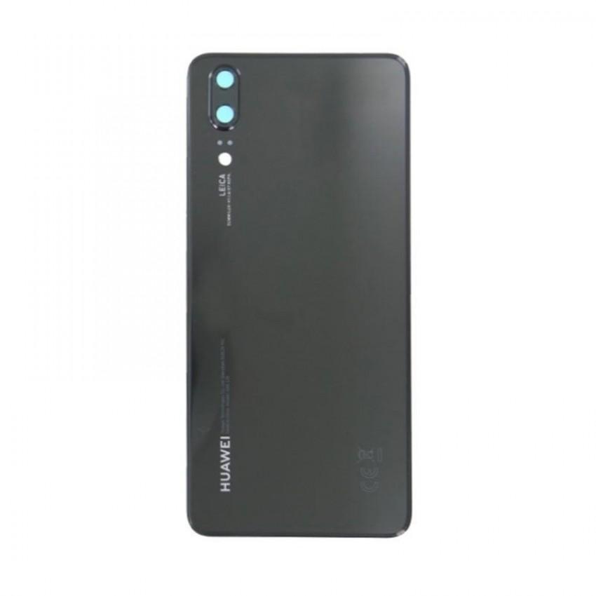 Galinis dangtelis Huawei P20 juodas ORG