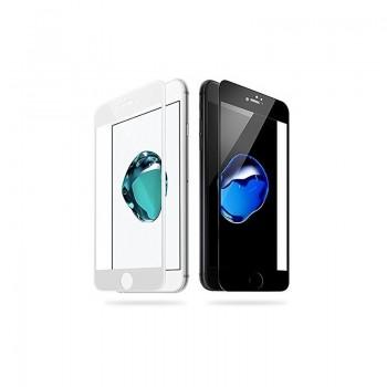 """LCD apsauginis stikliukas """"5D Full Glue"""" Apple iPhone 6 Plus/6S Plus lenktas baltas be įpakavimo"""