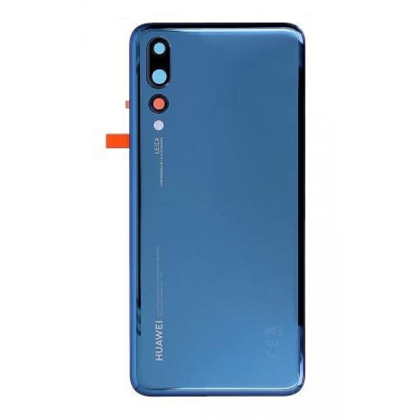 Galinis dangtelis Huawei P20 Pro mėlynas (Midnight Blue) ORG