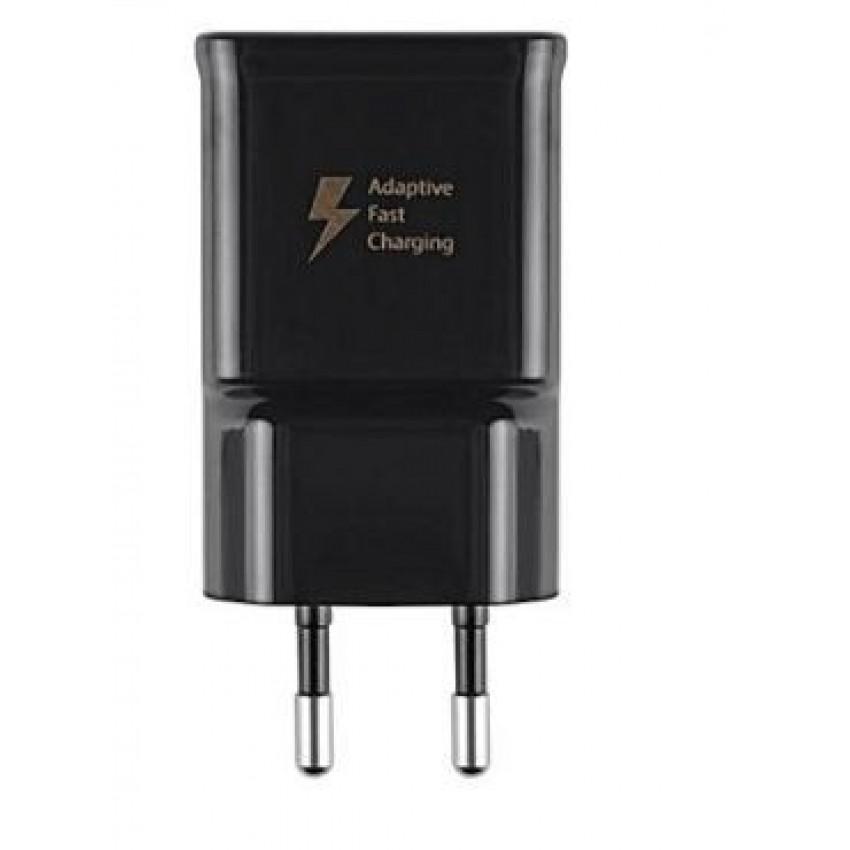 Įkroviklis originalus Samsung Note 4 N910F USB FastCharge (EP-TA20EBE) 2A juodas (used Grade B)