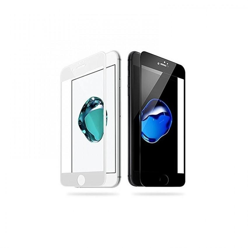 """LCD apsauginis stikliukas """"5D Full Glue"""" Apple iPhone XS Max/11 Pro Max lenktas juodas be įpakavimo"""