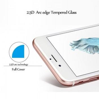 """LCD apsauginis stikliukas """"2.5D Full Glue"""" Xiaomi Redmi Note 6 / Mi 8 Lite / Mi 8 Youth (Mi 8X) juodas be įpakavimo"""