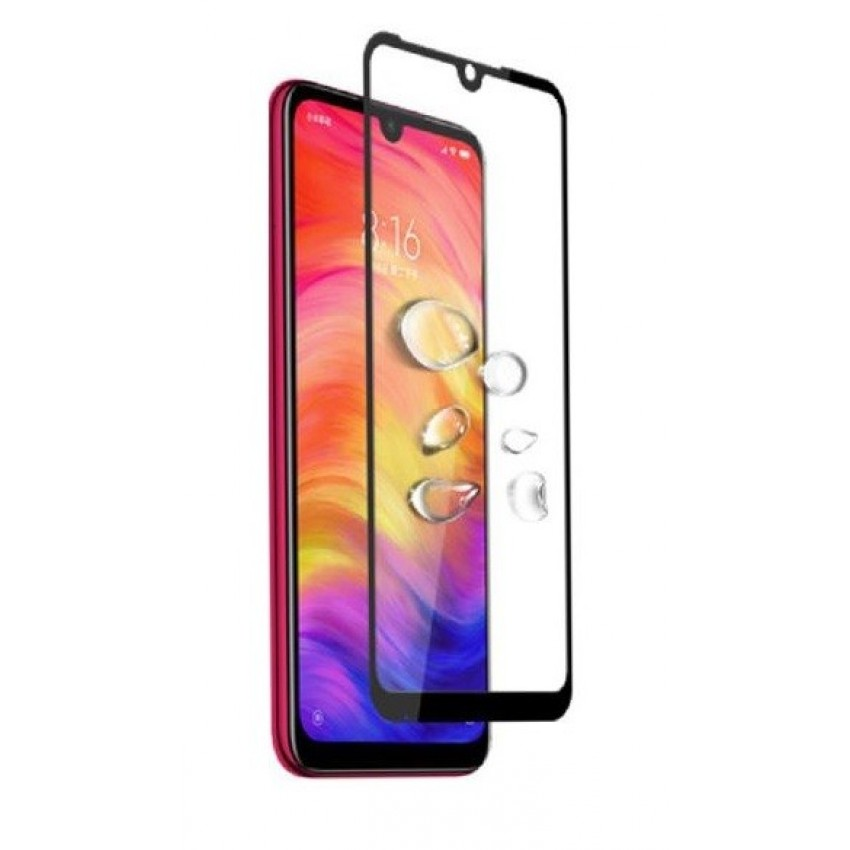 """LCD apsauginis stikliukas """"5D Full Glue"""" Xiaomi Mi 6 lenktas juodas be įpakavimo"""