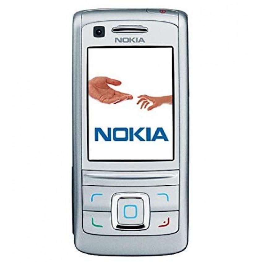 Korpusas Nokia 6280 sidabrinis