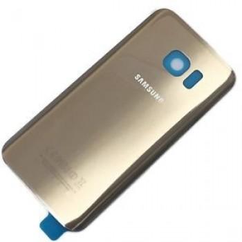 Back cover for Samsung G935F S7 Edge gold Platinum original (used Grade A)