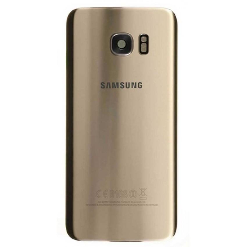 Back cover for Samsung G935F S7 Edge gold Platinum original (used Grade B)