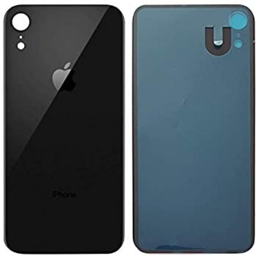 Galinis dangtelis iPhone XR juodas HQ