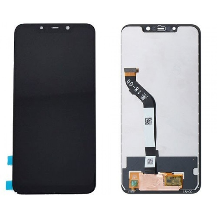 LCD screen Xiaomi F1 Pocophone with touch screen black HQ
