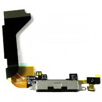 Lanksčioji jungtis Apple iPhone 4G įkrovimo kontakto juoda ORG