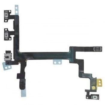 Lanksčioji jungtis Apple iPhone 5G on/off, garso kontrolės ORG