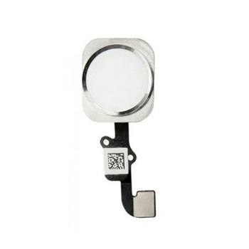 Lanksčioji jungtis Apple iPhone 6/6 Plus HOME mygtuko su Touch ID sidabrinė ORG