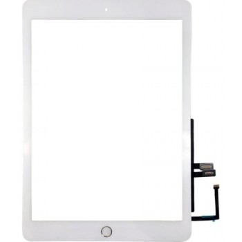 Touch screen iPad 2018 9.7 (6th) white with Home button and holders HQ