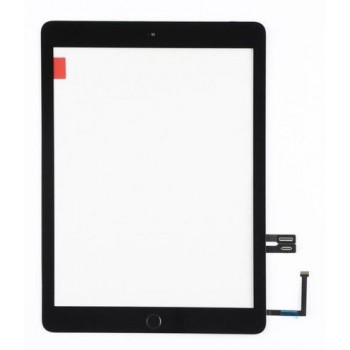 Touch screen iPad 2018 9.7 (6th) black with Home button and holders HQ