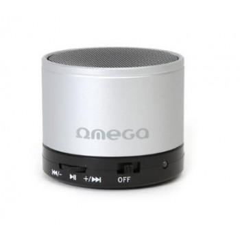 Bluetooth portable speaker OMEGA OG47 (MicroSD, HF) silver
