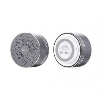 Bluetooth portable speaker HOCO BS5  (MicroSD, Hands Free, AUX,FM) grey