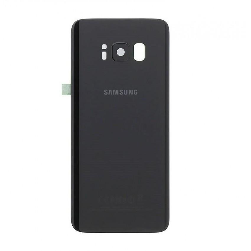 Galinis dangtelis Samsung G950F S8 juodas (Midnight Black) originalus (used Grade B)