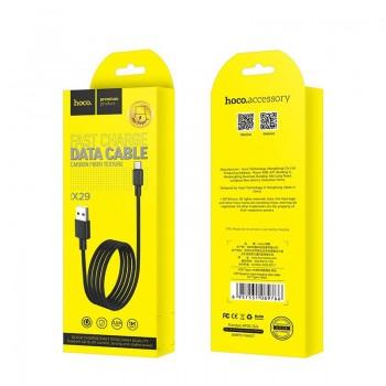 USB kabelis HOCO X29 Superior style microUSB 1m juodas