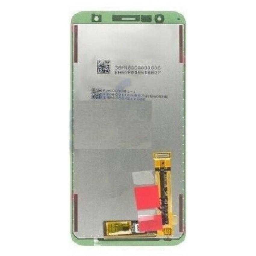 Ekranas Samsung J415F/J4+/J4 Plus J610F/J6+/J6 Plus su lietimui jautriu stikliuku juodas originalus (service pack)