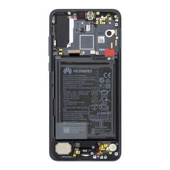 LCD screen Huawei P20 PRO with touch screen and frame and battery black original (service pack)