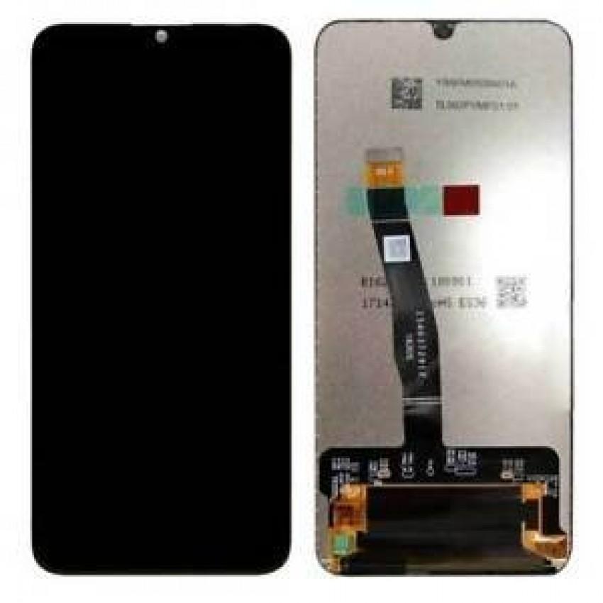 Ekranas Huawei P Smart 2019/P Smart Plus 2019/P Smart 2020 su lietimui jautriu stikliuku juodas ORG