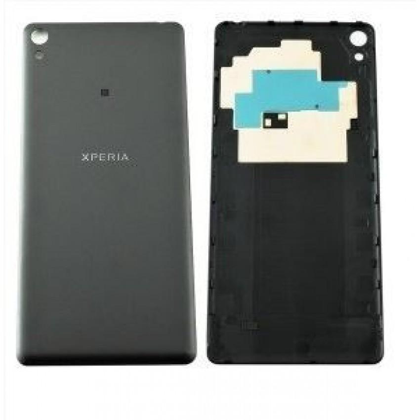Galinis dangtelis Sony F3111/F3112 Xperia XA juodas (Graphite Black) originalus (used Grade B)