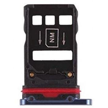 SIM card holder Huawei Mate 20 Pro blue ORG