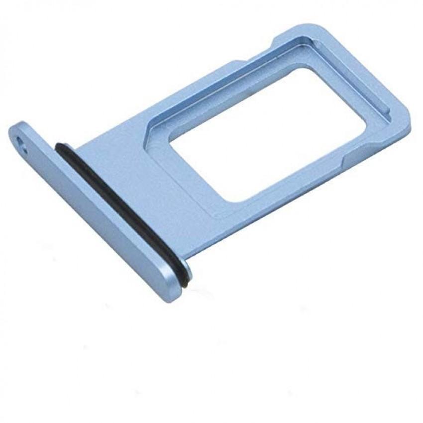 SIM card holder Apple iPhone XR blue ORG