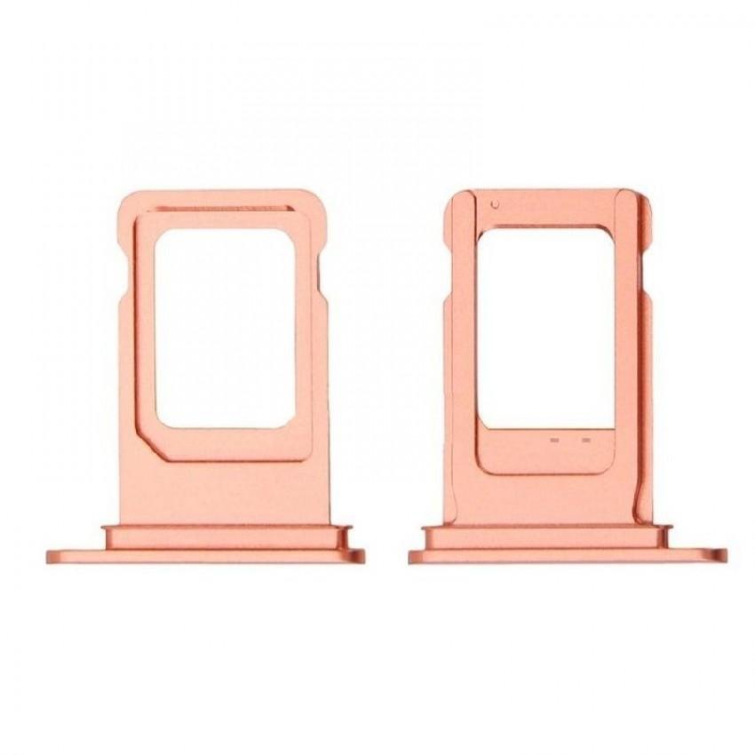 SIM card holder Apple iPhone XR pink (Coral) ORG