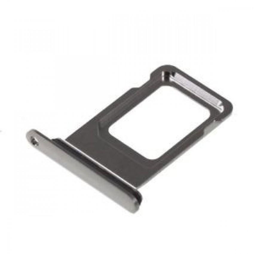 SIM card holder Apple iPhone XS grey (Space Grey) ORG