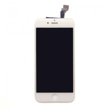 Ekranas iPhone 6 Plus su lietimui jautriu stikliuku baltas Premium