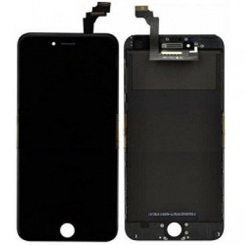 Ekranas iPhone 6 Plus su lietimui jautriu stikliuku juodas Premium