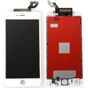 Ekranas iPhone 6S su lietimui jautriu stikliuku baltas Premium