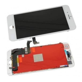 Ekranas iPhone 8 Plus su lietimui jautriu stikliuku baltas Premium